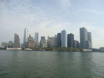 La vue depuis le ferry